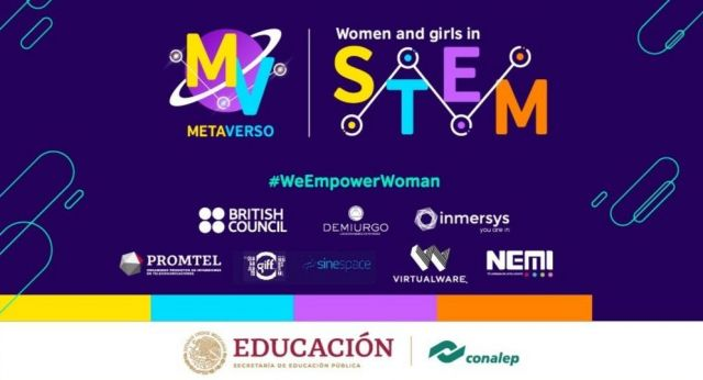 women and girls in stem virtualware